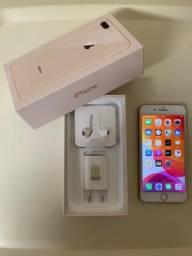 IPhone 8 Plus 64gb -Completamente impecável -Gold - Garantia até 09/09/2020 - Nota Fiscal