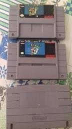 3 jogo.de nintendo.original do Mário. um sem label.o