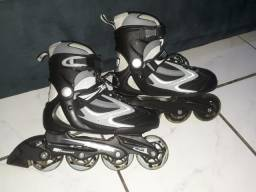 Patins Inline Traxart Rolling Star Cinza