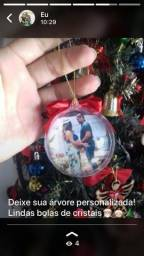 Bola de Natal Cristal