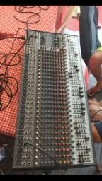 Mesa behringer 24 canais eurodex sx3242 toper