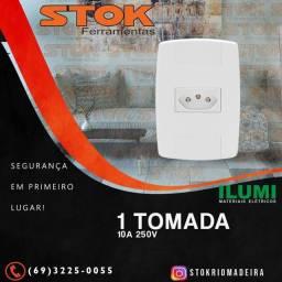 Conjunto 1 Tomada 10A 250V