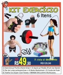 Kit de Exercícios Excelente com 6 itens + 1 Brinde exclusivo da MultiLeone