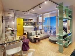 Espaçoso Studio em Vila Madalena, com 1 dormitório, 1 vaga e área de 37 m²