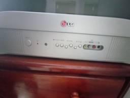 2 TVs LG analógicas 14 e 24 polegadas precisa de conversor