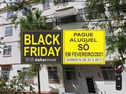 Daher Aluga: Apartamento Térreo 3 Qtos - Iapc Cascadura - Cod CDQ 147