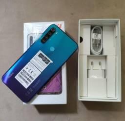 Xiaomi Redmi Note 8 64GB 4 de RAM - Azul e Branco