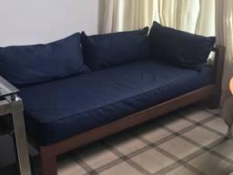 Sofá Área externa completo cor Azul Marinho