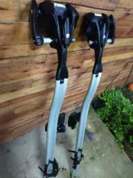 2 suportes de teto para bike te thule
