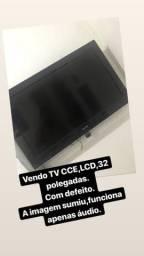 TV CCE com defeito