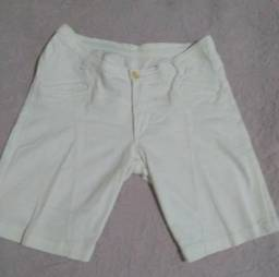 Short branco feminino Tam 40