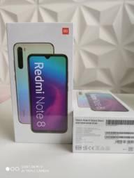 Redmi note 8. Alto nível da Xiaomi. Novo lacrado com garantia e entrega