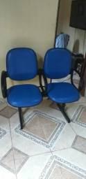 Cadeira dupla de espera