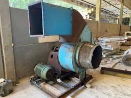 Ventilador industrial com motor 30 CV 2100 RPM