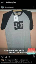Camisetas DC Shoes e Santacruz Skateboarding - 3/4 - Unissex