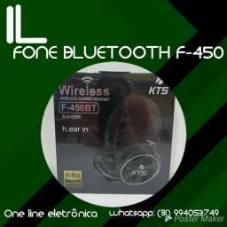 FONE BLUETOOTH HEADPHONE F-450 NOVO