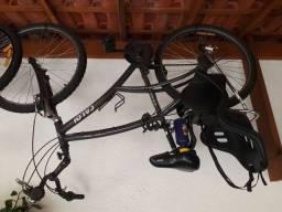 Bike, garupeira, cadeirinha traseira e computador para bike