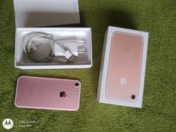 iPhone 7 32 gb Com Caixa E Nota Fiscal
