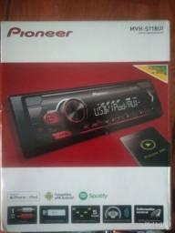 Radio Pioneer Mvh -S118ui novo na caixa.