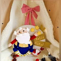 Guirlanda de Natal feito a mão