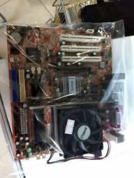 Kit placa mãe Win Fast PC-760M02
