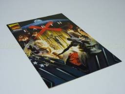 Earth X Wizard - Special Edition, com desenhos de Alex Ross