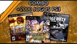 2.000 jogos de Ps3 digital
