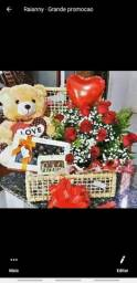 Cesta romântica, Cesta de café da manhã,  cesta de chocolate