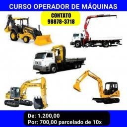 CURSO OPERADOR DE máquinas
