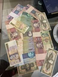 Vendo minha coleção do notas raras super novas! Avaliação em mais de 1.000.00 reais