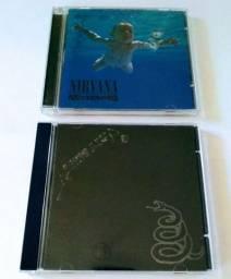 CD METALLICA BLACK  E NIRVANA.