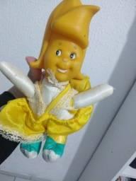 Boneca antiga anos 80 , bananinha da coleção frutas bebê