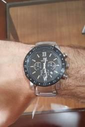 Relógio Masculino Megir Aço Inox Original