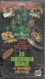 olx280 fita vhs rara As Tartarugas Ninja 2 aventura entrega via correios