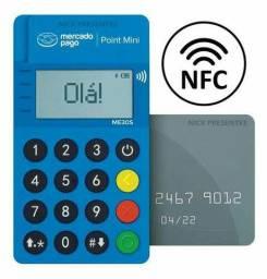 Aumente suas vendas! Passe cartão! Maquininha de cartão NFC