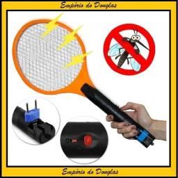Raquete Mata Insetos Recarregável Bivolt Utilidades (Entrega Imediata!!)