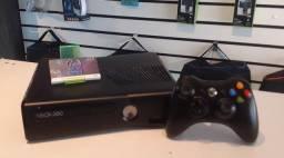 Xbox 360 slim 500gb 70 jogos e garantia loja