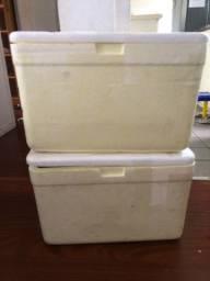 2 isopores de 27 litros