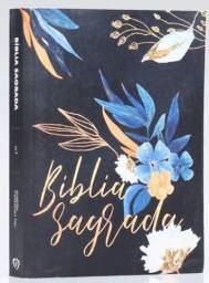 Bíblia Para Evangelismo Premium | ACF | Letra Média | Capa Brochura | Flores