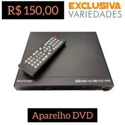 Aparelho DVD Player USB Multilaser