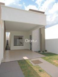 Título do anúncio: Casa com 3 dormitórios à venda, 97 m² por R$ 315.000,00 - Residencial Vereda dos Buritis -