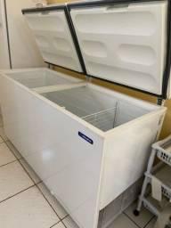 Freezer e Refrigerador Horizontal Dupla Ação 2 tampas 546 litros DA550 ? Metalfrio