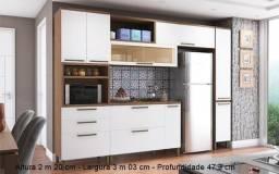 Cozinha de Parede Marsala - 04 Peças