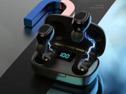 Fones de Ouvido Stereo Exchange - Bluetooth 5.0 - Touch - Cores Preto e Branco