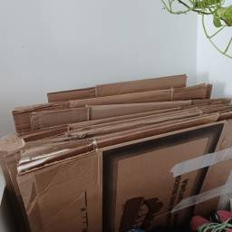 Doação  15 caixas de papelão