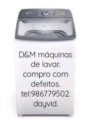 Título do anúncio: D&M.maquinas de lavar.