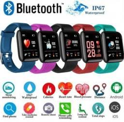 Relógio inteligente Smartwatch 116 plus