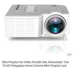 Mine projetor de vídeo e imagem
