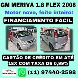 Meriva 2008 - Flex - Manual - Financiamos