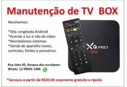Venda e manutenção de aparelho tv box mxq mx9